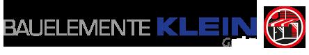 Bauelemente Klein Logo